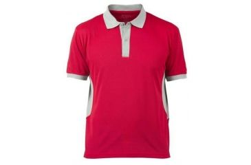 436247df Beretta Mens Silver Pigeon Performance Polo Shirt,Red/Silver,Large  MP031T0473034VL